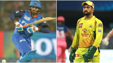 MS Dhoni or Rishabh Pant in Dream11 Team: Which Wicket-Keeper You Must Pick Today in Your CSK vs DC IPL 2020 Match Fantasy XI?