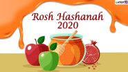 Rosh Hashanah 2020 HD Images and Wallpapers For Free Download Online: WhatsApp Stickers, Facebook Photos, GIF Greetings and Messages to Send Happy Jewish New Year Wishes