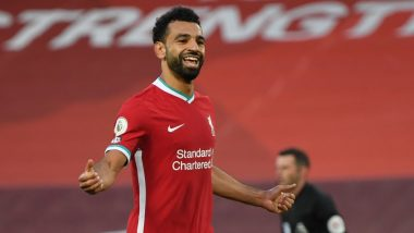 Mohamed Salah's Hat-Trick Powers Liverpool to Seal 4-3 Win Over Leeds United During EPL 2020-21, Check Goal Highlights