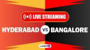 SRH vs RCB, IPL 2020 Live Cricket Streaming: Watch Free Telecast of Sunrisers Hyderabad vs Royal Challengers Bangalore on Star Sports and Disney+Hotstar Online