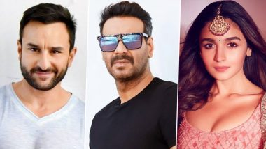 From Saif Ali Khan in Adipurush to Ajay Devgn, Alia Bhatt in RRR: Looking at Bollywood Actors Who Will Be Seen in Regional Releases!