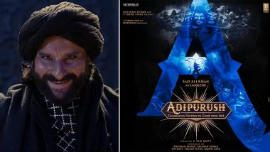 Saif Ali Khan As Lankesh In Adipurush: Netizens Go Crazy After The Actor Comes On Board For Prabhas' Next (View Tweets)