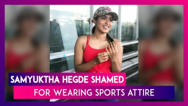 Samyukta Hegde Heckled In Bangalore Park, Actor Becomes A Victim Of Moral Policing As Kavitha Reddy, A Karnataka Congress Leader Attempts To Shame Her For Her Attire