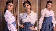 Sanjana Sanghi Is Sunshine Girl in Polka Dots and Denim Dress!