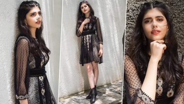Sanjana Sanghi Reminds Us Why Sheer Dresses Can Be Edgy Chic and a Worthy Wardrobe Addition!