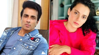 Sonu Sood Reacts to Kangana Ranaut's Post Comparing Mumbai With PoK, Says 'This City Changes Destiny' (View Tweet)