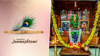 Sree Krishna Janmashtami 2020 Messages and Wishes Trend Online: Netizens Share Lord Krishna Photos on Ashtami Rohini to Extend Greetings of Sree Krishna Jayanthi