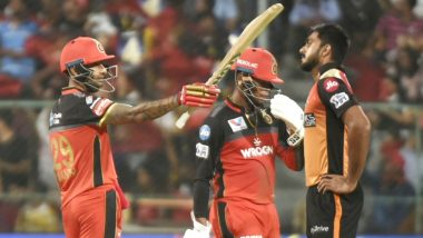How to Watch SRH vs RCB IPL 2020 Live Streaming Online in India? Get Free Live Telecast of Sunrisers Hyderabad vs Royal Challengers Bangalore Dream 11 Indian Premier League 13 Cricket Match Score Updates on TV