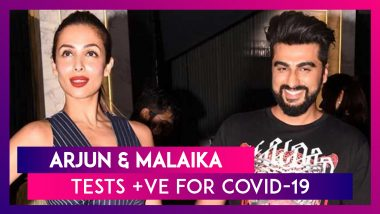 Arjun Kapoor & Malaika Arora Test Positive For COVID-19, Both The Actors Are Asymptomatic And Will Quarantine At Home