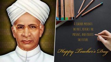 Happy Teachers' Day 2020 Wishes and Images Take Over Twitter: Netizens Share Thoughtful Quotes, Dr Sarvepalli Radhakrishnan Photos And Messages to Extend Greetings of The Day