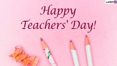 Teachers' Day 2021 Quotes & HD Images: WhatsApp Messages, GIFs, Facebook Greetings, Wallpapers and SMS To Celebrate Your Teachers