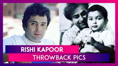 Rishi Kapoor Birth Anniversary: 8 Throwback Pics That Will Make You Miss The Late Actor