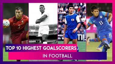 Cristiano Ronaldo Joins Elite 100-International Goals Club: A Look At Top 10 Goalscorers In Football