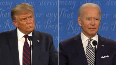 US Presidential Debate 2020: Mics to be Muted in Final Debate Between Donald Trump & Joe Biden, Candidates to be Muted When the Other Has the Floor to Stop Interruptions
