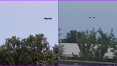 UFO in New Jersey? Viral Videos of 'Flying Saucer' Turn Out to be a Goodyear Blimp!