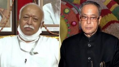 'Pranab Mukherjee Has Left a Void, He Used to Make Me Forget I am Talking to the President of India', Says RSS Chief Mohan Bhagwat in Memory of Former President