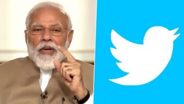 PM Narendra Modi's Twitter Account @narendramodi_in Hacked: Microblogging Site Confirms Suspicious Activity, Says 'Actively Investigating Situation'