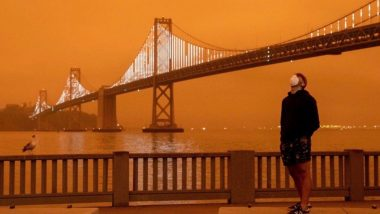 California Wildfires: Smoke Turns Skies Orange, Barack Obama Says 'Protecting Our Planet is on the Ballot, Vote like Your Life Depends on It'; View Pics