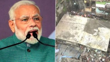 Bhiwandi Building Collapse Tragedy: PM Narendra Modi Expresses Condolences to Families of Deceased, Says 'All Possible Assistance Being Provided to the Affected'
