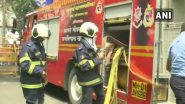 Mumbai Fire: Blaze Breaks Out in Exchange Building at Ballard Estate, Fire Tenders Rush to Douse Flames