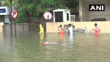 Thane Man Swept Away in Floodwaters Following Heavy Rainfall & Severe Waterlogging in Mumbai