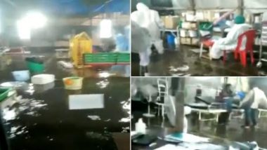 Mumbai Rains: COVID-19 Dedicated Nair Hospital Flooded Due to Heavy Overnight Downpour in City, Watch Video