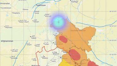 Earthquake in Jammu & Kashmir: Quake of Magnitude 3.7 Hits 281 Km North of Gulmarg