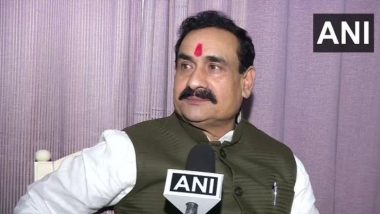 Narottam Mishra, MP Home Minister, Apologises For His Statement 'I Don't Wear Mask' at an Event in Indore, Watch Video