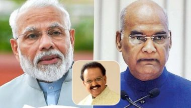 SP Balasubrahmanyam Dies at 74: President Kovind, PM Narendra Modi, Rahul Gandhi & Other Political Leaders Offer Condolences to Late Singer's Kin