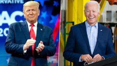 US Presidential Debate 2020: Donald Trump Mocks Joe Biden For Wearing Face Masks, Says He Wears It When He Thinks 'It is Required'