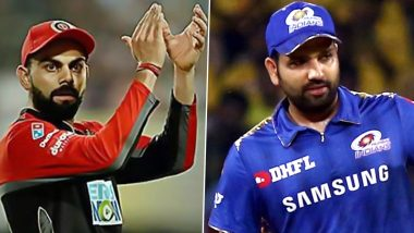 Virat Kohli vs Rohit Sharma Captaincy Record in IPL: Ahead of RCB vs MI Clash, Let's Look at How the Two Batting Greats Have Fared as Leaders Till Now