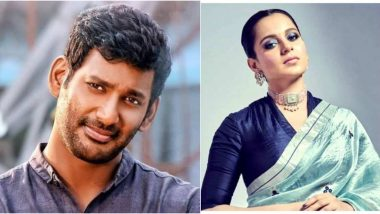Vishal Lauds Kangana Ranaut For 'Facing the Wrath of the Government', Compares Her to Bhagat Singh (View Tweet)