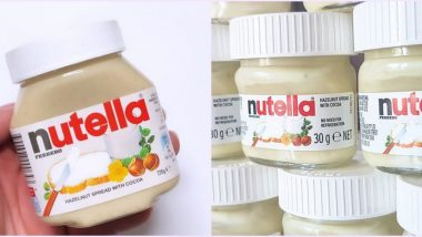 White Chocolate Nutella Photo Has Everyone Craving For it; Here's How You Can Make Your Own At Home Easily (Watch Recipe Video)