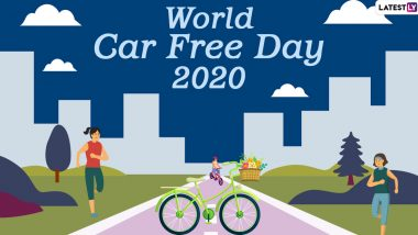 World Car-Free Day 2020 Date, History and Significance: Here's What You Should Know About the Day Highlighting the Benefits of Going Car-Free