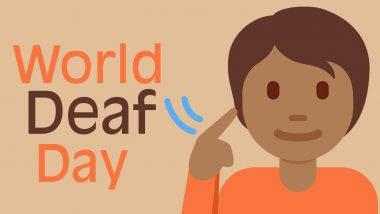 World Deaf Day 2020 Date, History and Significance: Know More About the Day That Fights for the Human Rights of Deaf People