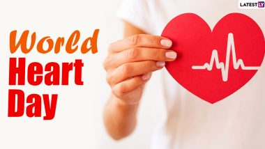 World Heart Day 2020 Date and History: Know Significance of The Day That Creates Awareness About Healthy Heart