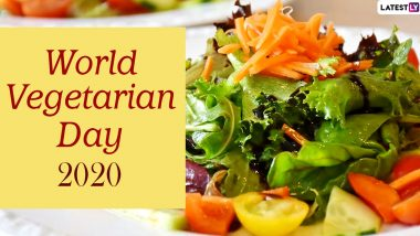 World Vegetarian Day 2020 Quotes & HD Images: Cool Instagram Captions And Thoughts to Send to Your Vegetarian Friends