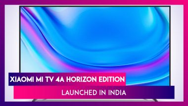 Xiaomi Mi TV 4A Horizon Edition Launched in India; Prices, Variants, Features & Specifications
