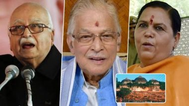 LK Advani, Murli Manohar Joshi, Uma Bharti And Others: Prominent Names in List of 32 Acquitted in Babri Masjid Demolition Case