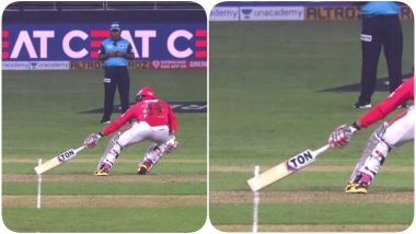 Umpiring Howler Strikes IPL 2020! Chris Jordan Wrongly Given 'Short Run' During DC vs KXIP Match, Virender Sehwag, Preity Zinta & Others Fume Over Poor Decision (Watch Video)