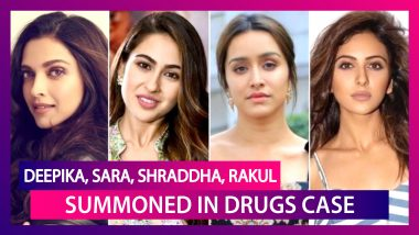 Deepika Padukone, Sara Ali Khan, Shraddha Kapoor, Rakul Preet Singh Summoned By NCB As Bollywood Drugs Probe Widens