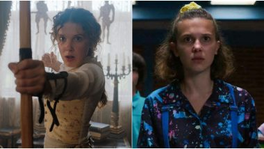 Millie Bobby Brown Says Enola Holmes Is More of a Superhero Than Stranger Things' Eleven