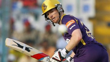 IPL 2021: KKR Skipper Eoin Morgan Fined Rs 24 Lakh for Maintaining Slow Over Rate Against MI, Others Fined Rs 6 Lakh Each