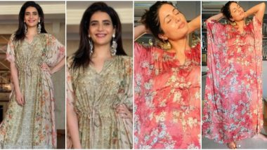 Fashion Faceoff: Hina Khan or Karishma Tanna - Whose Love Affair with Kaftan Has Your Vote?
