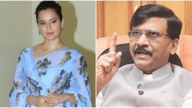 Kangana Ranaut Reacts to Sanjay Raut's 'Haramkhor Ladki' Remark: 'Every Hour a Girl's Raped in India, Mentality Like Yours Is Responsible' (Watch Video)