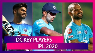Rishabh Pant, Shikhar Dhawan, Shreyas Iyer and Other Key Players for Team DC in IPL 2020