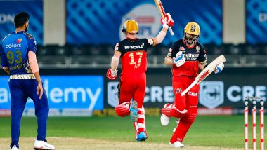 RCB vs MI Stat Highlights IPL 2020: Second Super Over of the Season and Other Stats from Royal Challengers Bangalore vs Mumbai Indians