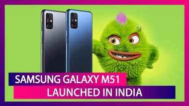 Samsung Galaxy M51 with Quad Rear Cameras Launched in India; Prices, Variants, Features & Specifications
