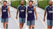 Lionel Messi Shares an Emotional Post on Arturo Vidal as Mid-Fielder Joins Inter Milan, Says 'Barcelona Dressing Room With Miss You'