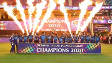 Mumbai Indians Images & HD Wallpapers for Free Download Online for All MI Fans After Their IPL 2020 Title Win